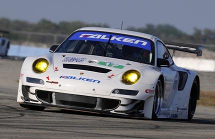 Porsche with seven works drivers at American Le Mans Series in Florida