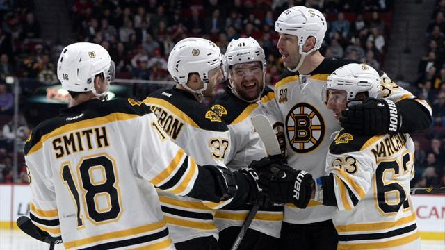 Ice Hockey - Bruins roll on with 10th straight win