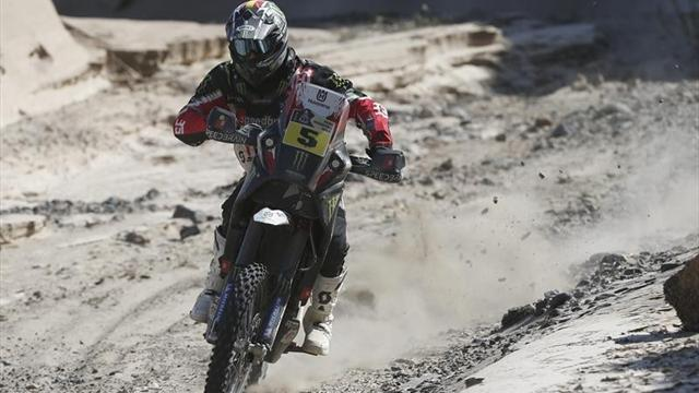Dakar - Bikes: Barreda upstages legends in opener