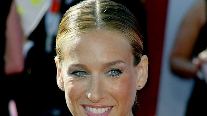 Sarah Jessica Parker at The 55th Annual Primetime Emmy Awards.