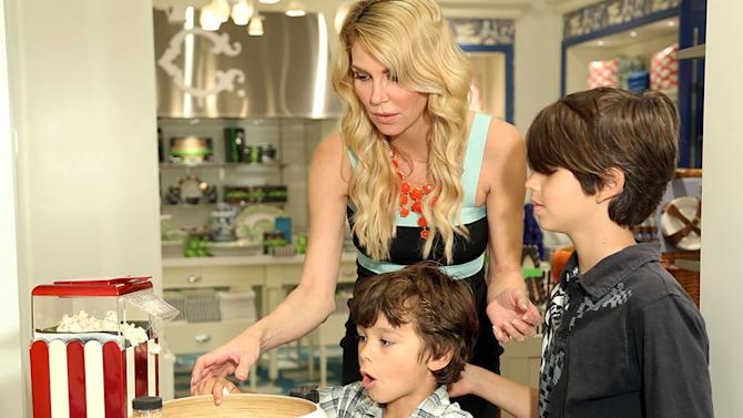 Brandi Glanville and Sons Jake and Mason Shop for Mother's Day at C. Wonder