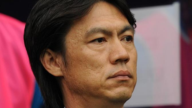 World Cup - Korea coach Hong stays on despite World Cup woes