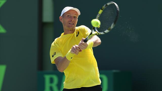 Tennis - Davydenko falls at the first in Miami