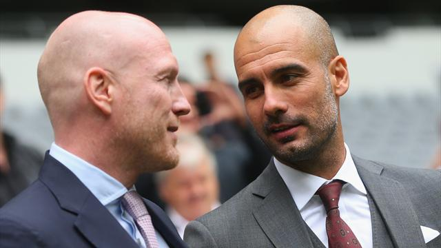 Bundesliga - Guardiola getting his first taste of the real FC Hollywood
