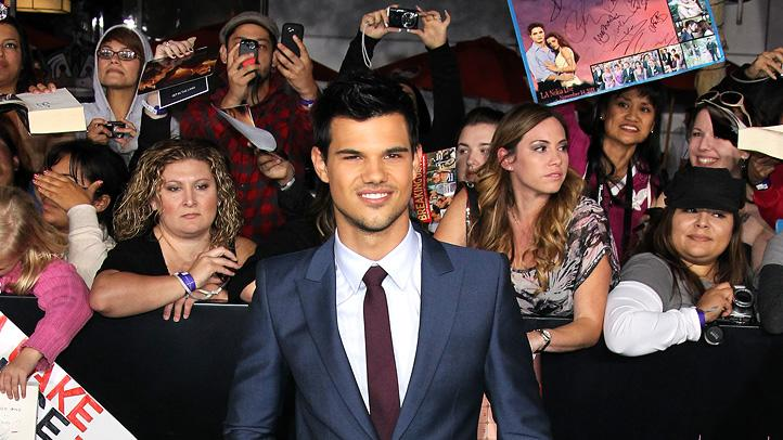 The Twilight Saga Breaking Dawn LA Premiere 2011 Taylor Lautner