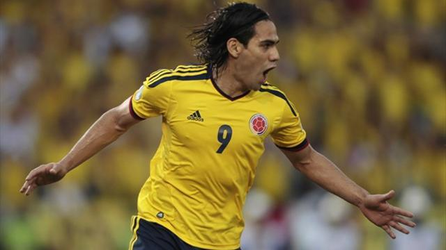 South American Football - Colombia close to ending 16-year World Cup wait