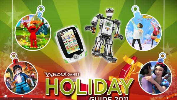 Yahoo! Games Holiday Guide 2011: Kid-Friendly Game Gifts