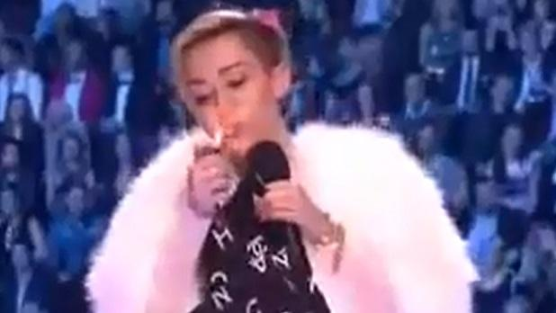 MTV's Miley Cyrus' Censorship Gets Foam Thumbs Up From PTC