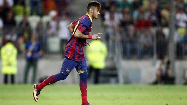 Liga - Friendlies: Sub Neymar denied victory on Barcelona debut