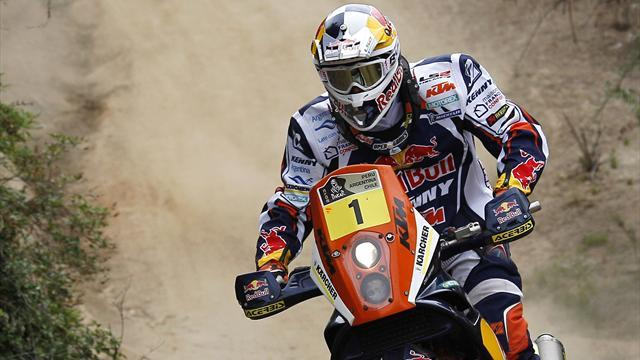 Dakar - Bikes: Five-time champion Despres earns first stage win of 2014