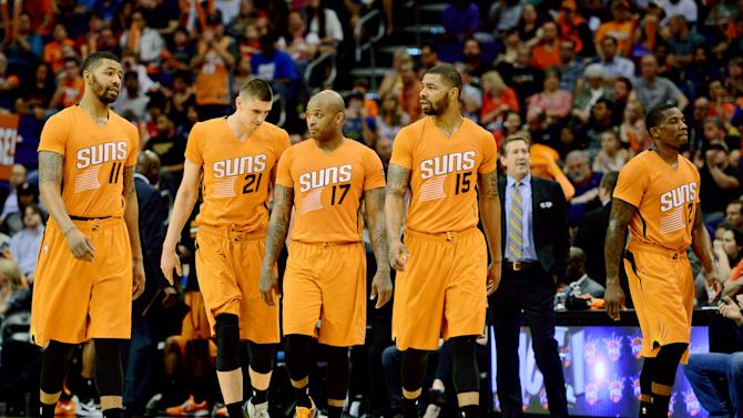 NBA: Portland Trail Blazers at Phoenix Suns
