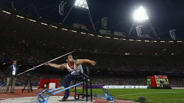 Athletics - Dunn keen to build on Paralympic success
