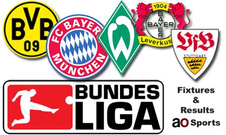 Germany Bundesliga fixtures (31st matchday)