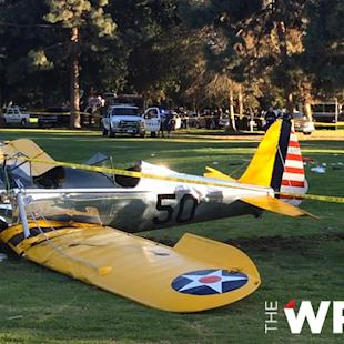Watch Footage From Harrison Ford Plane Crash Scene (Video)