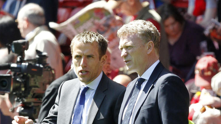 Soccer - David Moyes and Phill Neville File Photo
