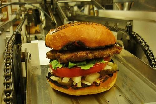 Burgeon: The hamburger-making robot that makes 360 burgers an hour. Home And Kitchen, Robots, 0