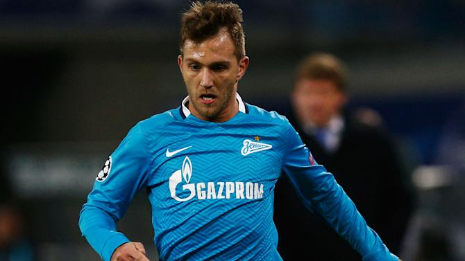 Zenit defender Criscito could return to Italy, claims agent