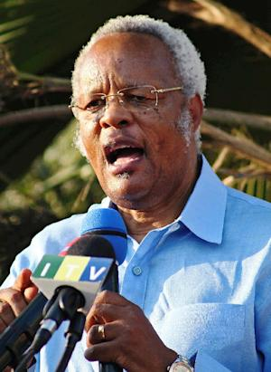 Edward Lowassa, former prime minister of Tanzania and …