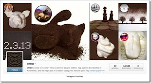 Real Time Content Marketing Case Study: Oreo and the Super Bowl image Oreo Instagram campaign