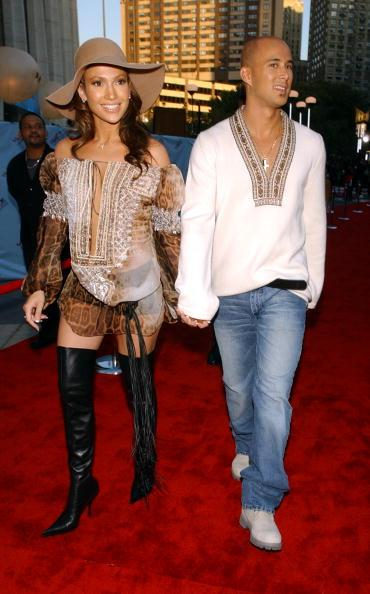 Jennifer and Cris Judd MTV Video Music Awards in at the September 2001