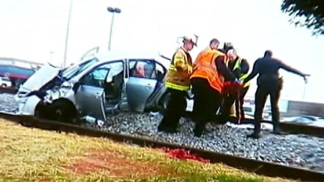 Pregnant Georgia Woman Rescued From Mangled Car
