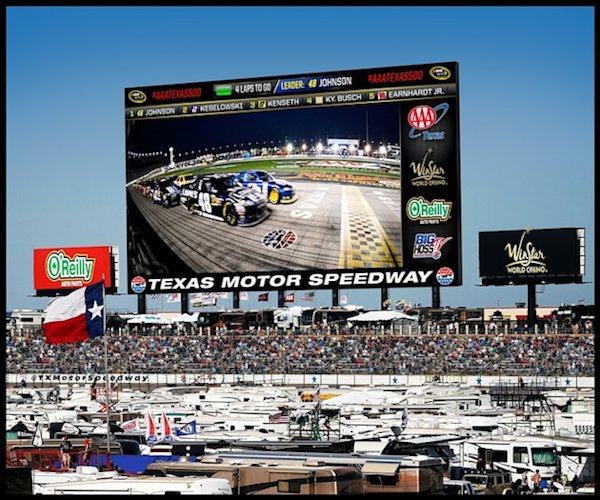 Texas Motor Speedway To Build World S Largest Hd Video