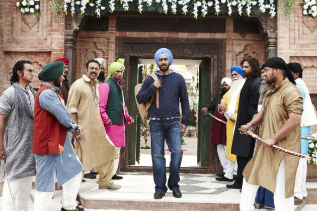 Behind the scenes: Son of Sardaar