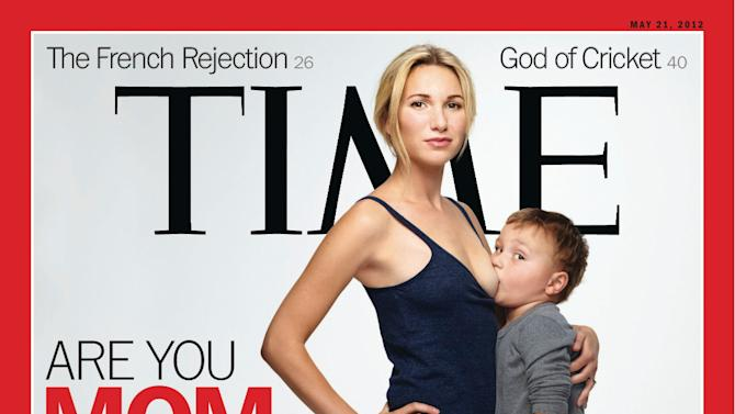 Time's breast-feeding cover