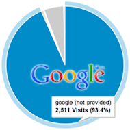 The Growing Impact of Google (Not Provided) image Google Not Provided