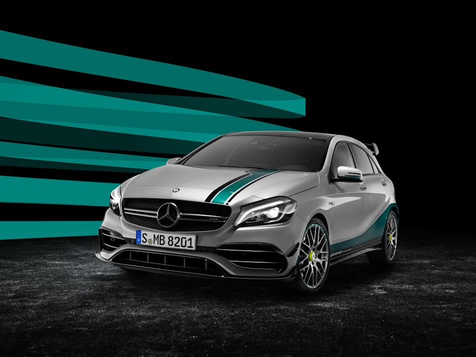 Uncork the champagne: Mercedes-AMG celebrates its latest F1 title with a limited-edition A45