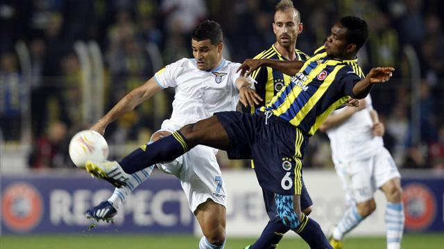 Europa League - Fenerbahce overcome 10-man Lazio