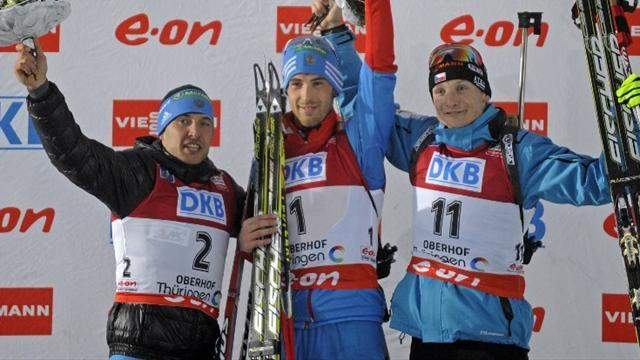 Biathlon - Malyshko doubles up in Oberhof