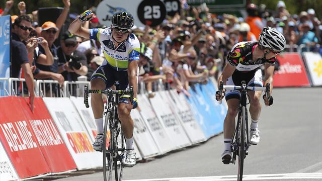 Cycling - Gerrans storms to home win on Australia Day