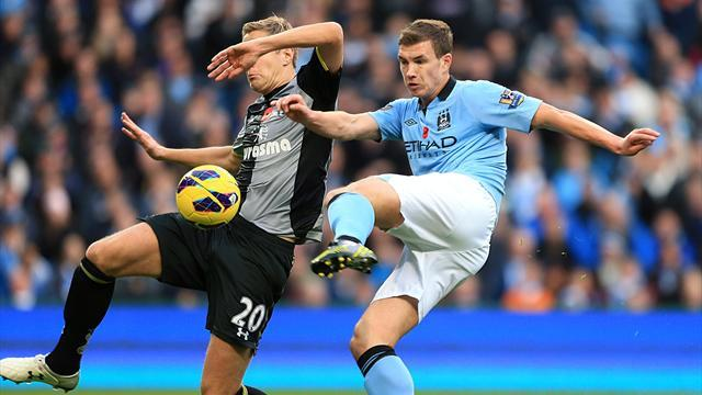 Premier League - Super sub Dzeko strikes again for City