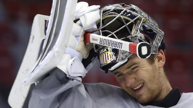 Goalie Jonathan Quick to start Sochi opener for US