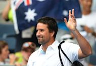 Australia's Pat Rafter stepped down as Davis Cup captain in early 2015 following a turbulent time dealing with Bernard Tomic