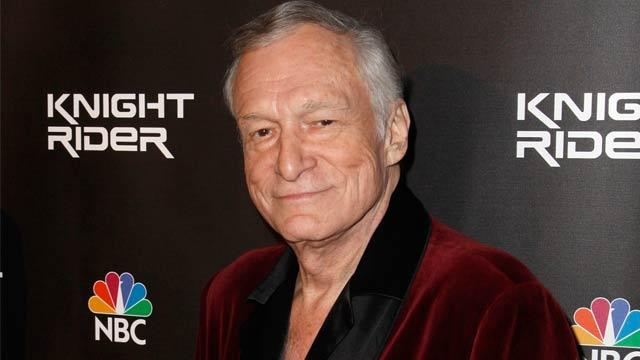 Hugh Hefner Sends Well Wishes to Pregnant Ex