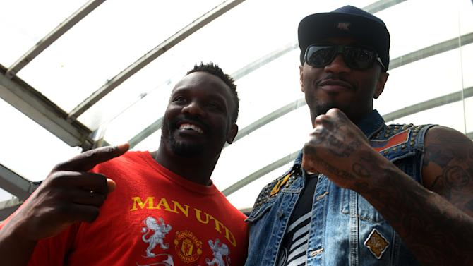 Boxing - Dereck Chisora and Malik Scott - Head to Head - Royal Leisure Park