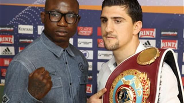 Boxing - Huck v Afolabi: Trilogy concludes on June 8