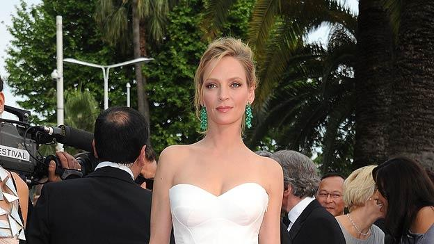 Uma Thurman Cannes Film Festival