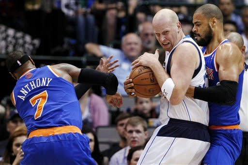 Mavericks hold on for 114-111 win over Knicks