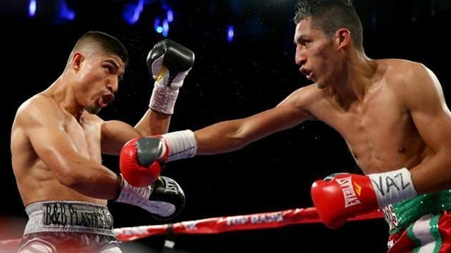 Boxing - Garcia outclasses Burgos, Petersen ends Jean's perfect record