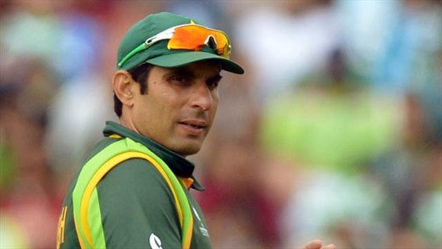 Cricket - Misbah misses ton as Pakistan tail frustrates Sri Lanka