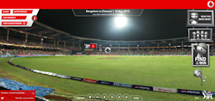 Watched The IPL? Now Find and Tag Yourself in the Stadium With Vodafone Fancam image Vodafone Fancam Bangalore vs Chennai 1024x481