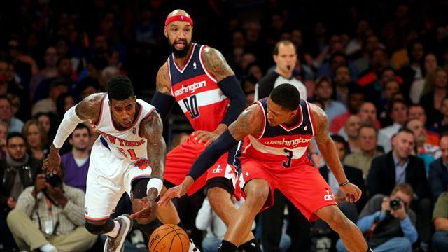 NBA - Wizards beat Knicks, Nets extend winning streak