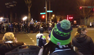 Twitter Users Poke Fun At Super Bowl Celebrations With #HowSeattleRiots image Twitter Pokes Fun Seattles Celebration