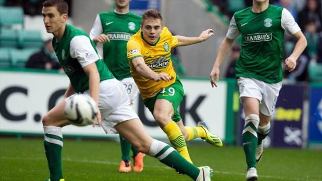 Scottish Premiership - Forrest rescues Celtic point