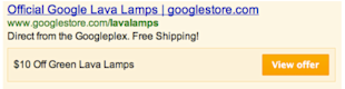 New Google AdWords Offer Extensions Integrate Discount Offers with Search image google adwords offer extension