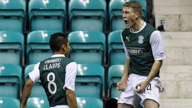 Scottish Football - Hibs get Cup revenge with derby victory