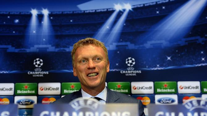Soccer - UEFA Champions League - Group A - Manchester United v Bayer 04 Leverkusen - Manchester United Press Conference - Old Trafford